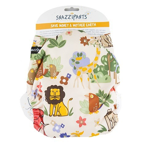 Snazzipants All In One Reusable Nappy - Jungle image