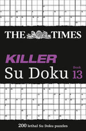 The Times Killer Su Doku Book 13 by The Times Mind Games