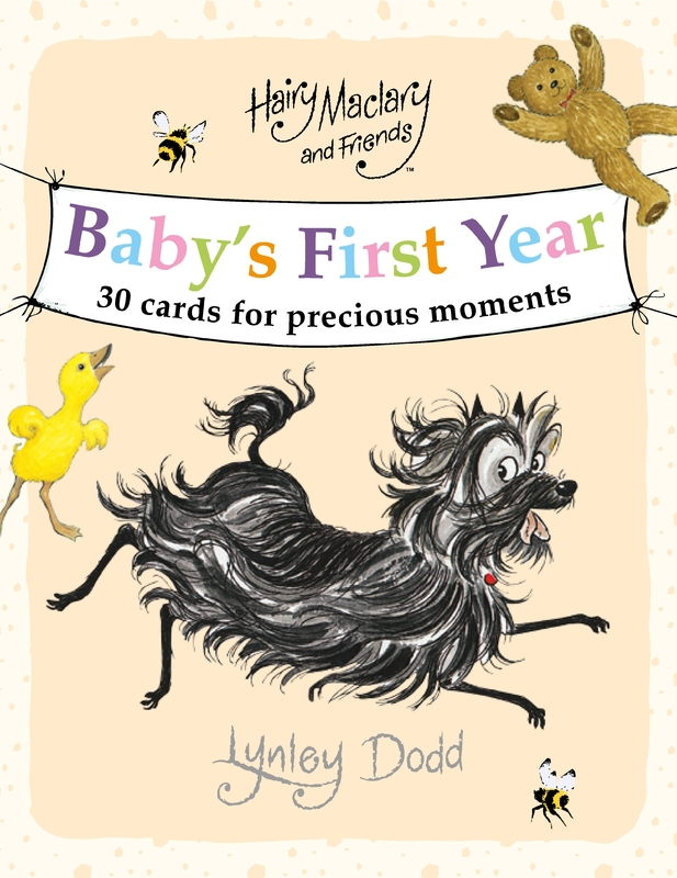 Hairy Maclary and Friends: Baby's First Year Cards by Lynley Dodd