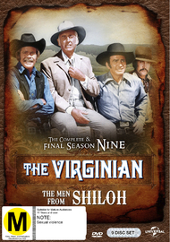 The Virginian - The Complete Final Season on DVD