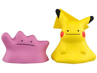 Pokemon: Moncolle EX Ditto & Ditto Transformed - Mini-figure Set