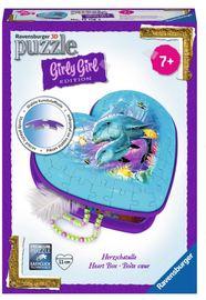 Ravensburger : Dolphins 3D Heart Box 54pc