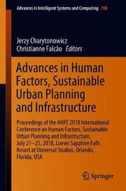Advances in Human Factors, Sustainable Urban Planning and Infrastructure