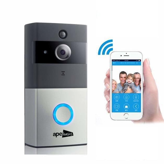 Ape Basics HD Video Security Doorbell