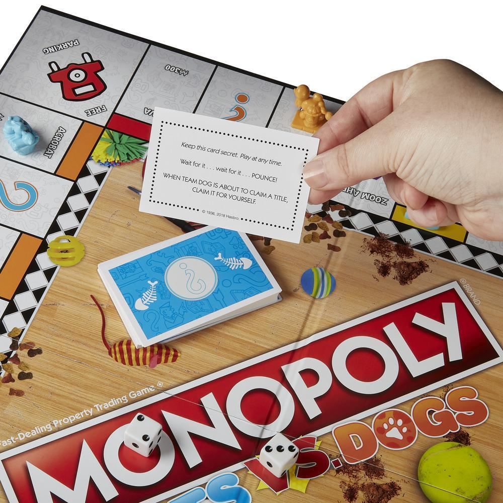 Monopoly: Cats Vs. Dogs - Board Game image