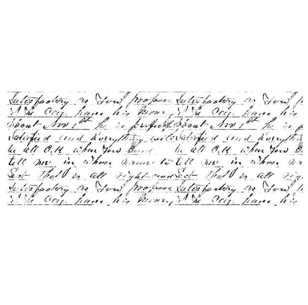 Kaisercraft: Texture Stamp - Script