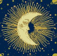 Diamond Dotz: Facet Art Kit - Moon Mandala