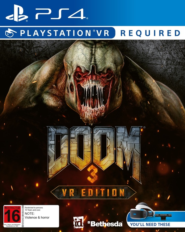 DOOM 3: VR Edition for PS4