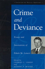 Crime and Deviance by Edwin M. Lemert image