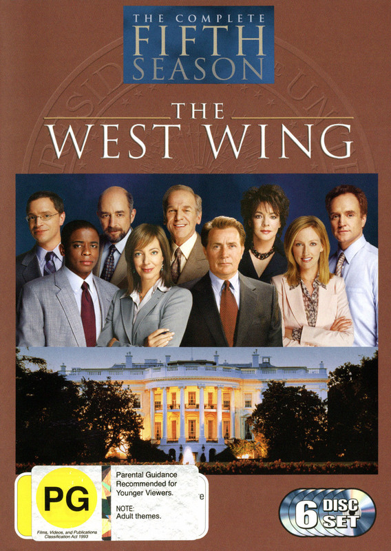 The West Wing - Complete Fifth Season  (6 Disc Box Set) on DVD