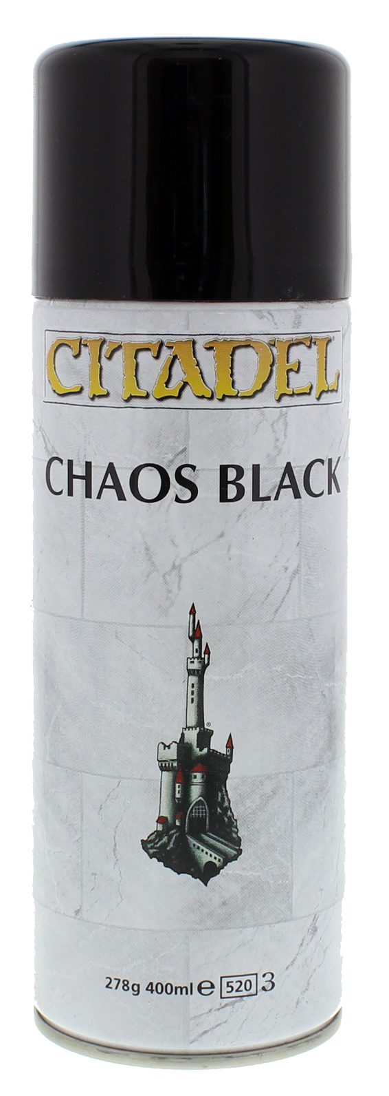 Citadel Spray Paint - Chaos Black image
