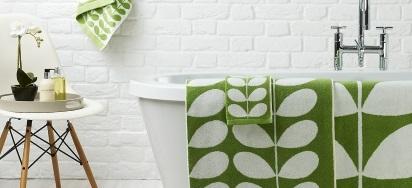 25% OFF Orla Kiely Luxury Bath Towels