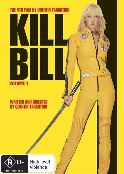 Kill Bill Volume 1 on DVD image
