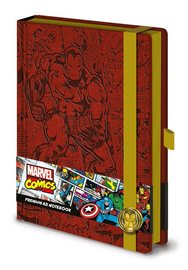 Marvel Comics: A5 Premium Notebook - (Retro Iron Man)