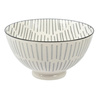 Etta Black and White Birch Large Bowl (13.5cm)
