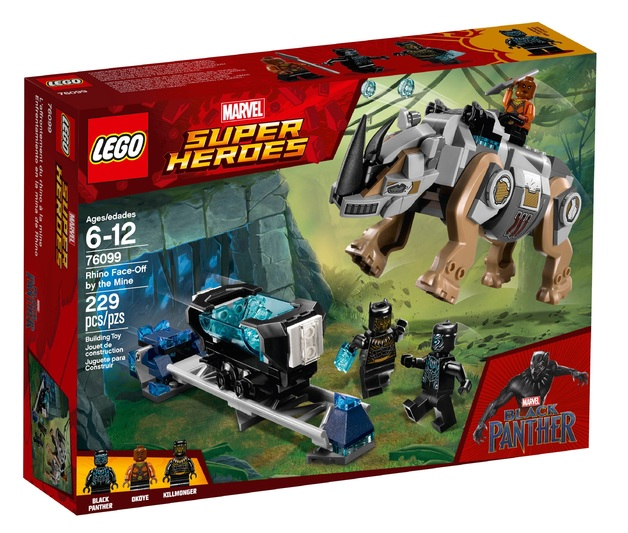 LEGO Super Heroes: Rhino Face-Off by the Mine (76099)
