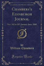 Chambers's Edinburgh Journal, Vol. 11 by William Chambers image