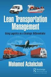 Lean Transportation Management by Mohamed Achahchah