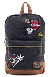 46fb81d26cc Loungefly  Mickey Mouse (Patches) - Denim Backpack image ...