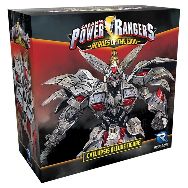 Power Rangers - Heroes of the Grid - Cyclopsis Deluxe Figure