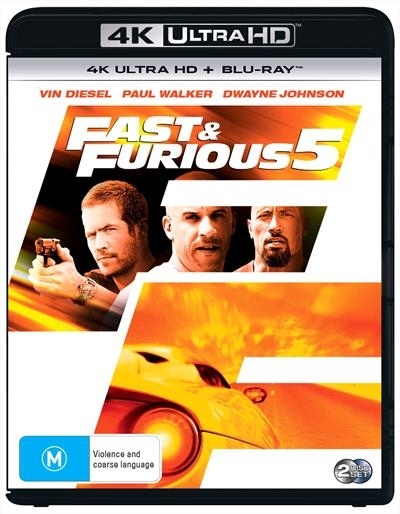Fast & The Furious 5 on UHD Blu-ray
