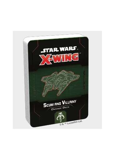 Star Wars X-Wing Second Edition Scum and Villainy Damage Deck