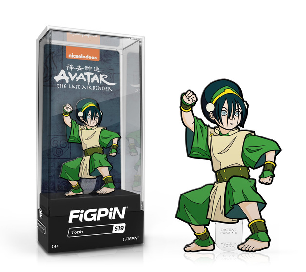 Avatar: The Last Airbender - Toph (#619) - Collectors FiGPiN