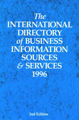 The International Directory of Business Information Sources and Services 1996 image