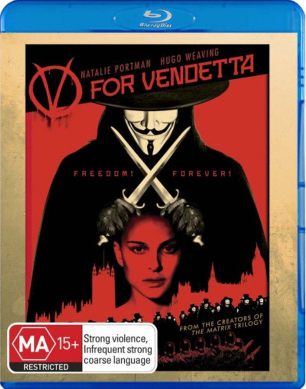 V For Vendetta on Blu-ray