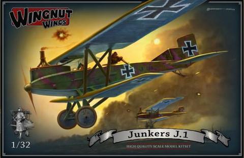 Wingnut Wings 1/32 Junkers J.1 Model Kit