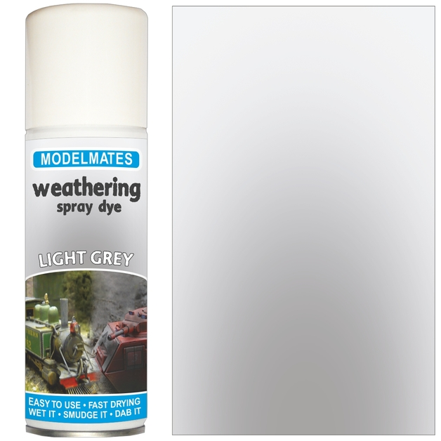 Modelmates: Weathering Spray Can - Light Grey