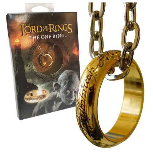 Lord of the Rings The One Ring (gold plated)