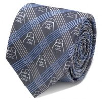 Star Wars: Darth Vader Blue Plaid Italian Silk Tie image