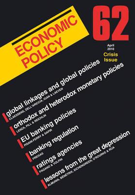 Economic Policy: No. 62 image
