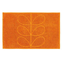 Orla Kiely Linear Stem Bath Mat - Orange