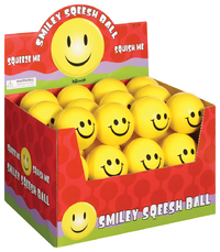 Toysmith: Smiley Squeesh Ball