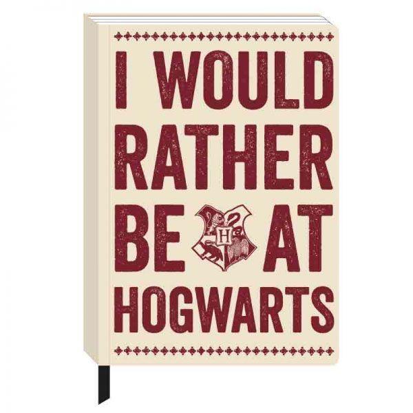 Harry Potter: Hogwarts Slogan - A5 Notebook image