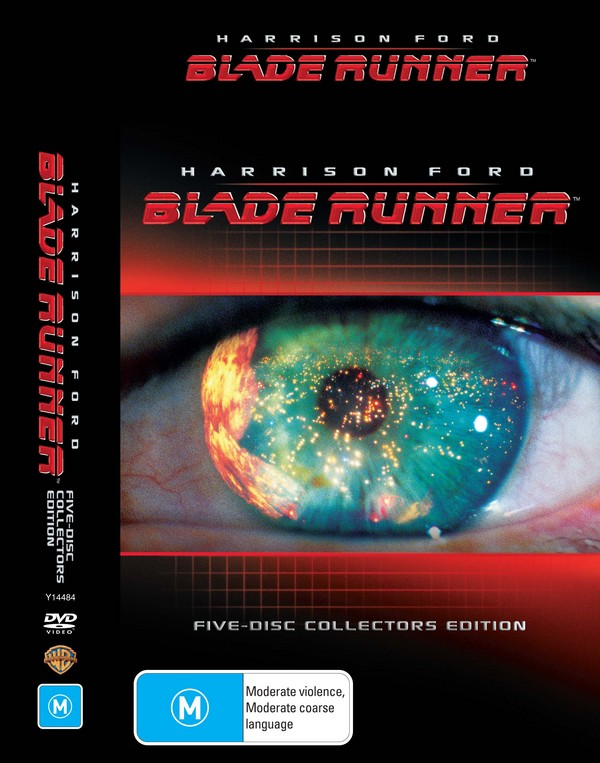 Blade Runner -  Collectors Edition (5 Disc Box Set) on DVD image