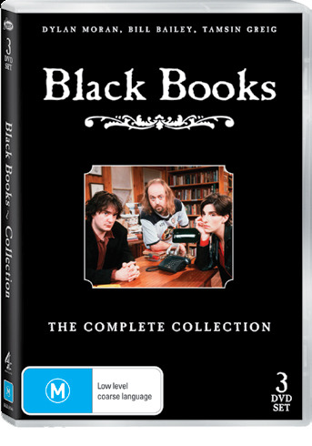 Black Books The Complete Collector's Edition - Series 1, 2 & 3 on DVD image