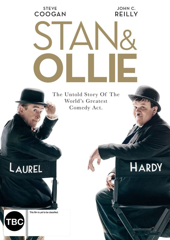 Stan And Ollie on DVD
