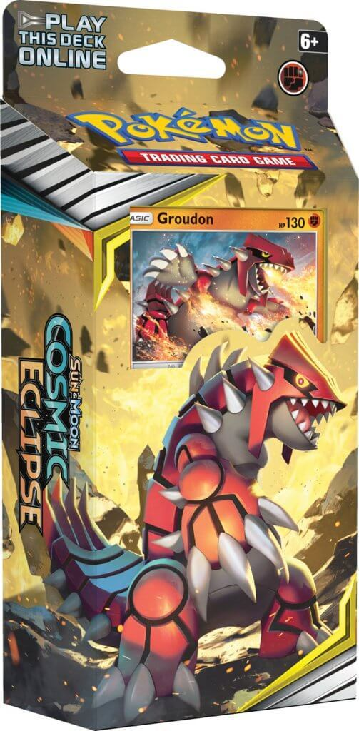 Pokemon TCG: Cosmic Eclipse Theme Deck- Groudon image