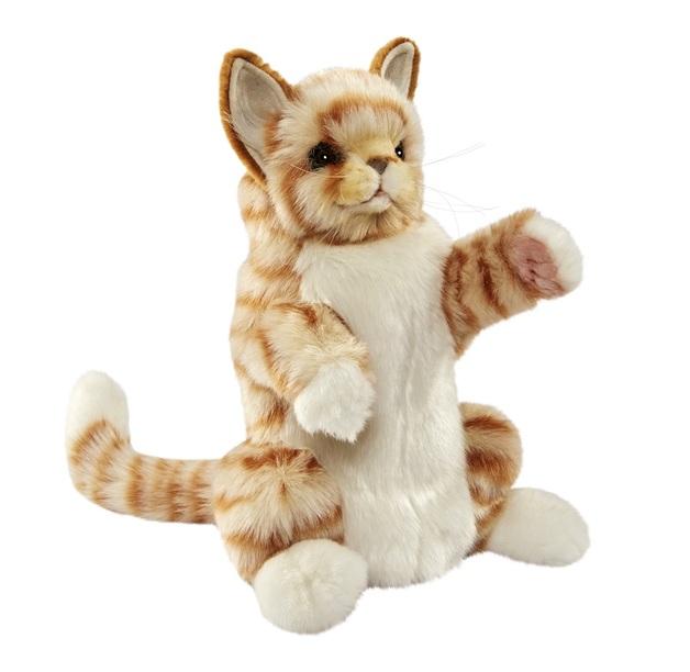 Hansa: Ginger Cat - Plush Puppet (30cm)
