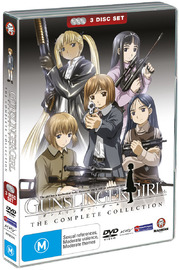 Gunslinger Girl - Complete Collection (3 Disc Slimpack) on DVD