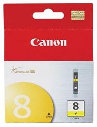 Canon Ink Cartridge - CLI8Y (Yellow) image