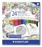 Staedtler - Noris Club Colour Pencils Johanna Basford - Pack of 24