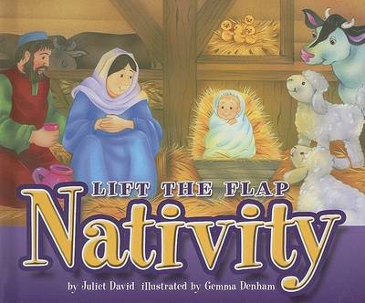 Lift the Flap Nativity by Juliet David image