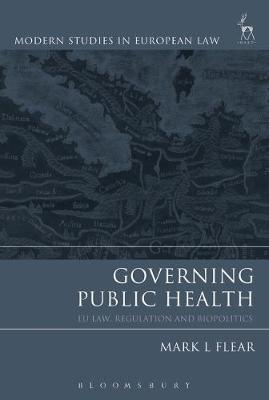 Governing Public Health by Mark Flear image