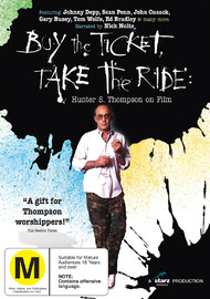 Buy The Ticket, Take The Ride - Hunter S. Thompson On Film on DVD