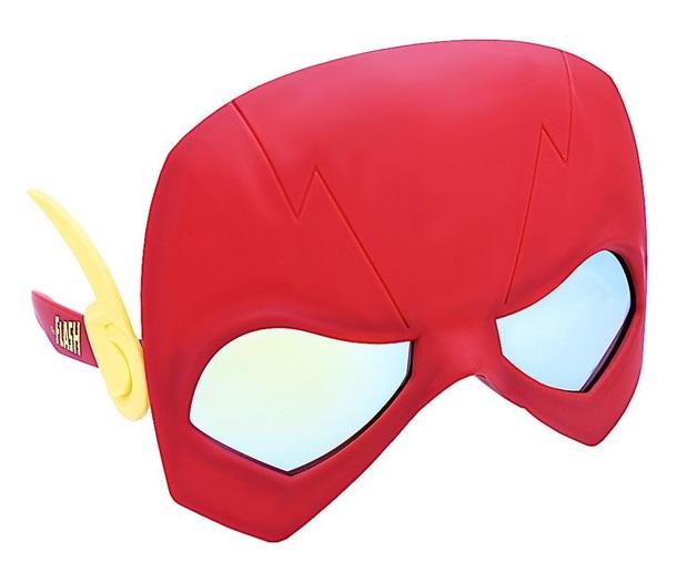 Sunstaches: Costume Sunglasses - Flash Mask