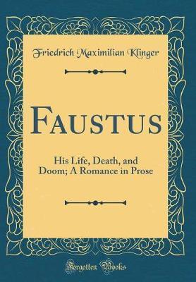 Faustus by Friedrich Maximilian Klinger image